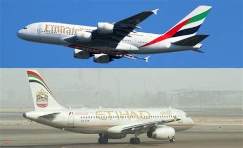 emirates or etihad sai etihad chega emirates