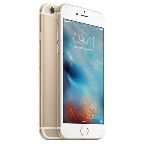 apple iphone 6 64 go or achat smartphone pas cher avis et meilleur prix les soldes sur