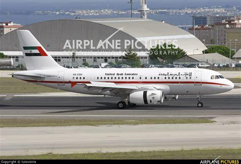 emirates a319 a6 esh united arab emirates government airbus a319 cj
