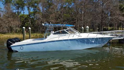 fountain outboard boats for sale 2007 fountain 38 sportfish cruiser outboard for sale