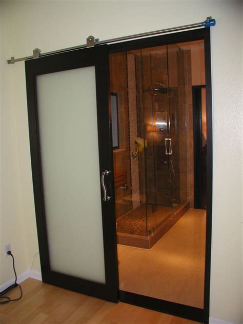 Bathroom Sliding Doors Interior Westshore Bathroom Remodel