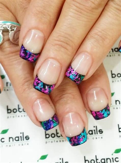 colored tips the 25 best tip acrylic nails ideas on