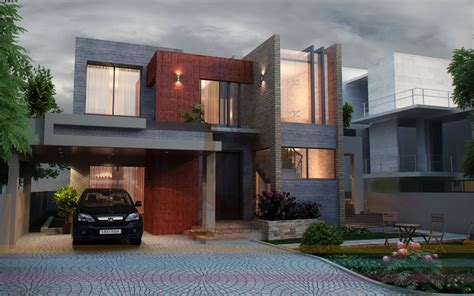 3d Home Design Architect Deluxe 8 3d front elevation com dha lahore 1 kanal modern