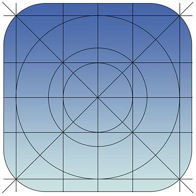 grid pattern app grids and icons for creating ios 7 templates designmodo