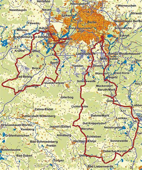 Motorrad Strecken Deutschland by Motorradtour Berlin Rund Um Berlin Traumtour Durch