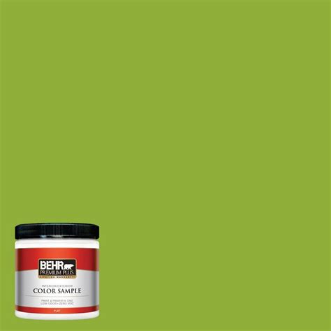 Home Depot 5 Gallon Interior Paint behr premium plus 8 oz 420b 6 new green interior