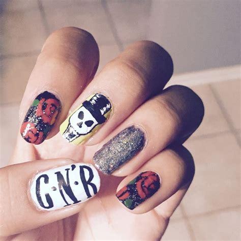Guns N Roses Nail guns n roses nail by me guns nail