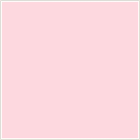 pastel pink rgb ffd9e0 hex color rgb 255 217 224 cosmos light red