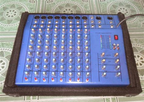 Mixer Monitor Audio 8 Chanel sound system lapangan contoh mixer 8 chanel