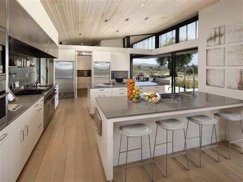 Rustic Modern Kitchen Ideas White Grey Modern Rustic Kitchen Sotheby S International Realty Montecito Coast Road