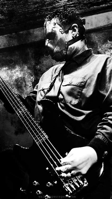 bass guitars slipknot bands rip paul grey wallpaper