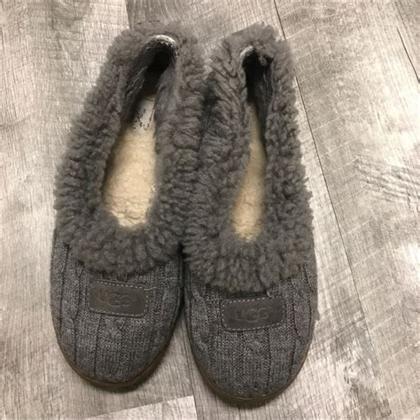 ugg cable knit slippers 80 ugg shoes ugg rylan cable knit sweater slippers