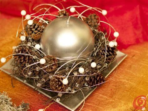 sti per candele fai da te centritavola e addobbi natalizi con materiali naturali