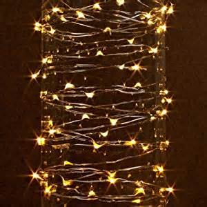 battery operated outdoor string lights gerson 38624 60 light 20 silver wire warm