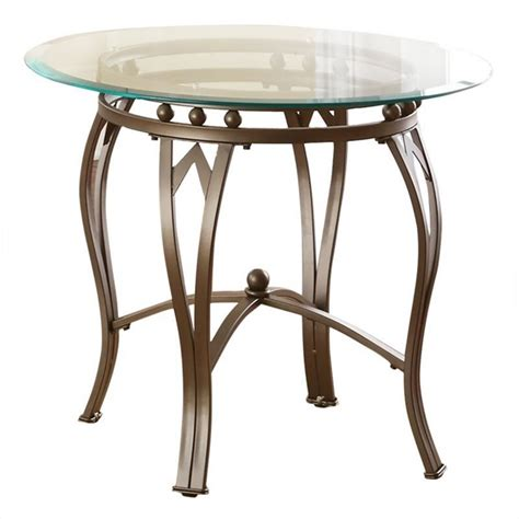 silver and glass end tables steve silver madrid glass top end table in weathered