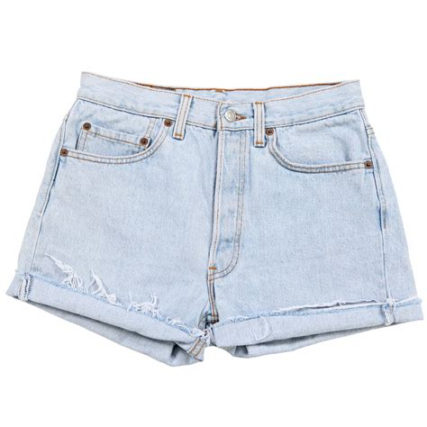 Light Blue Denim Shorts Hardon Clothes