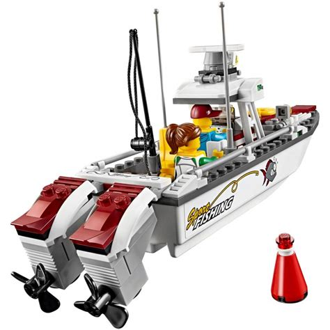 lego city fishing boat speed build lego 60147 fishing boat lego 174 sets city mojeklocki24