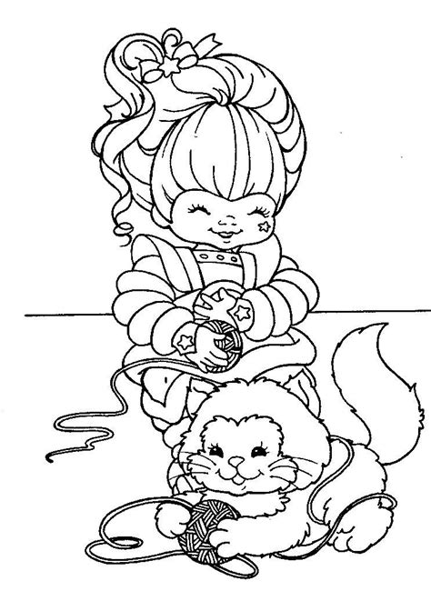 images of rainbow bright coloring pages   Iridella_rainbow