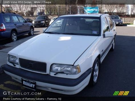1995 volvo 850 sedan white 1995 volvo 850 sedan taupe interior gtcarlot