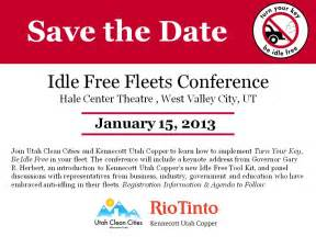 utah clean cities coalition idle free fleets conference