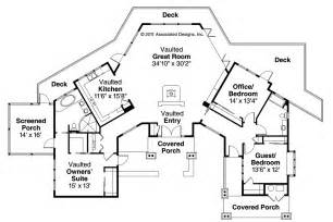 style house floor plans lodge style house plans sandpoint 10 565 associated