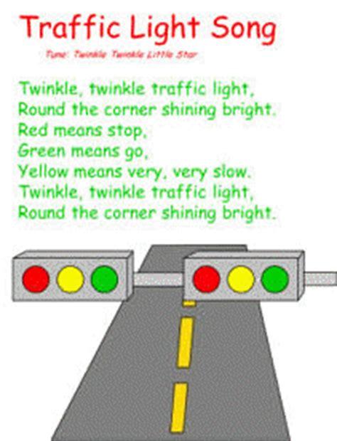 twinkle twinkle traffic light traffic light