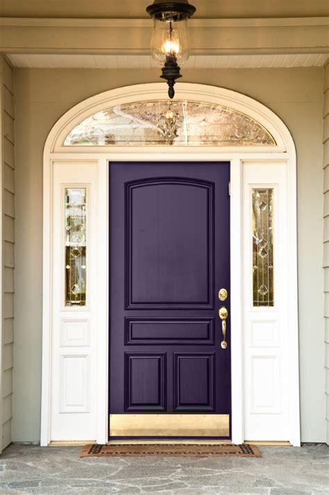 ten  front door colours   house  front