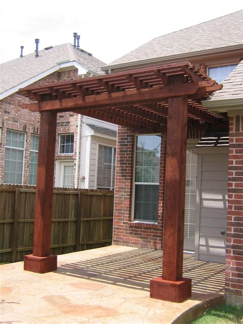 attached cedar pergola home and lawn transformers
