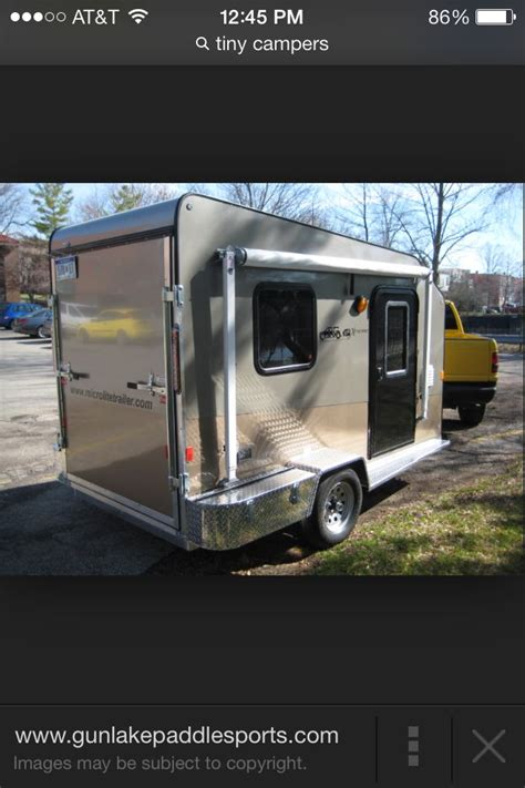 cool utility trailer conversion campers