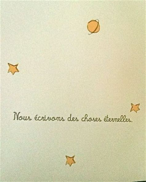 Wedding Quotes Exupery by Les 25 Meilleures Id 233 Es De La Cat 233 Gorie Citations Petit