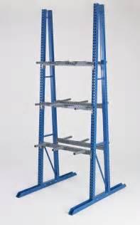 a frame vertical storage racks steel king industries inc