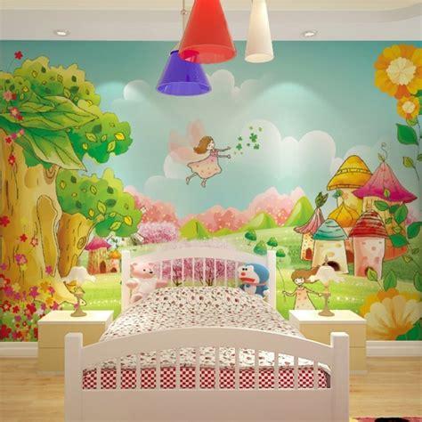 tapete für jugendzimmer kinderzimmer bunt dekor