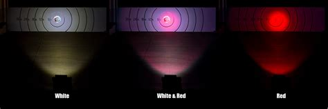 red led net lights 18 quot red white led off road light bar 24w 2 750 lumens