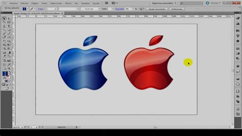 pattern illustrator tutorial cs5 tutorial adobe illustrator cs5 quot crear logotipo apple desde