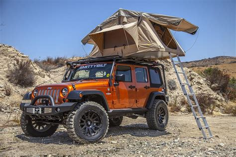 Jeep Cing Tent Smittybilt Overlander Tents 2783 Free Shipping On Orders