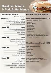 breakfast buffet menu hedleys breakfast menus buffet catering sandwich bar hedleys gloucester cheltenham