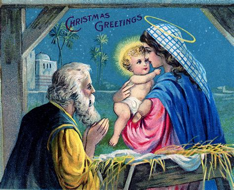 christmas with jesus this year vintage baby jesus image the graphics