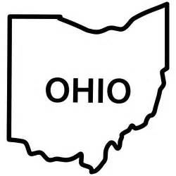 Outline Of Ohio Vector by The World S Catalog Of Ideas