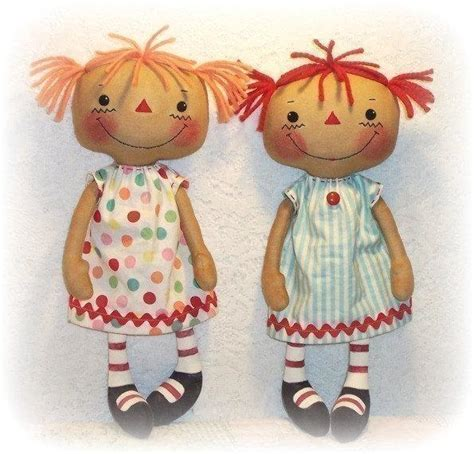 Handmade Doll Pattern - rag doll patterns on etsy a global handmade and vintage
