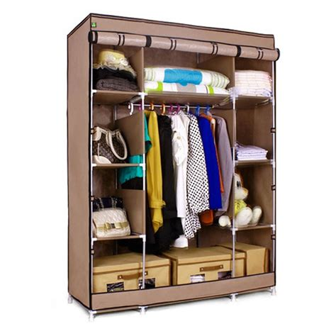 wholesale s7 high quality cheap portable bedroom closet wardrobe cabinets storage closet
