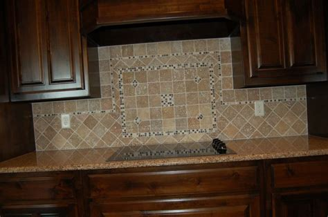 tumbled marble tile backsplash galleon bay pinterest