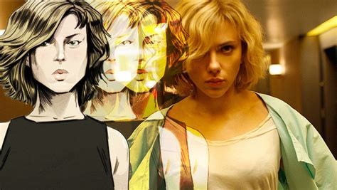 lucy film graphic novel lucy ルーシー 8月29日 金 公開記念 画面が動く 不思議なグラフィックノベルを公開
