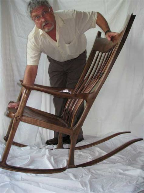great canadian woodworker rock n chairmen charles brock chairmaker