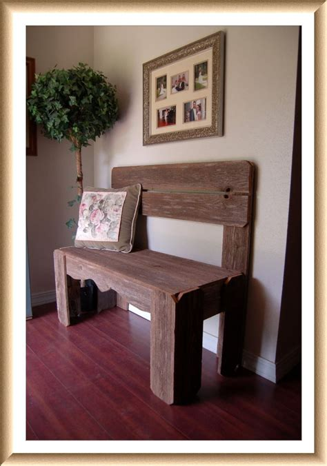 country entryway bench reclaimed wood bench charming rustic furniture country home decor fall entry bench wooden