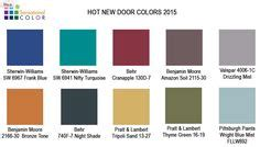 wall paint colors interior exterior doors miniatures projects to try