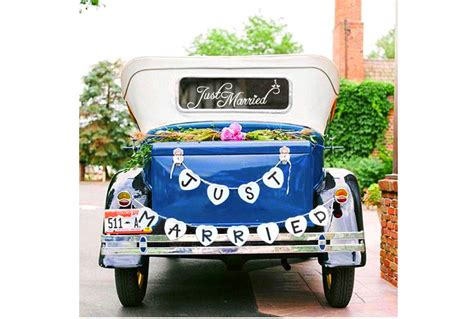 top    married wedding car decorations heavycom