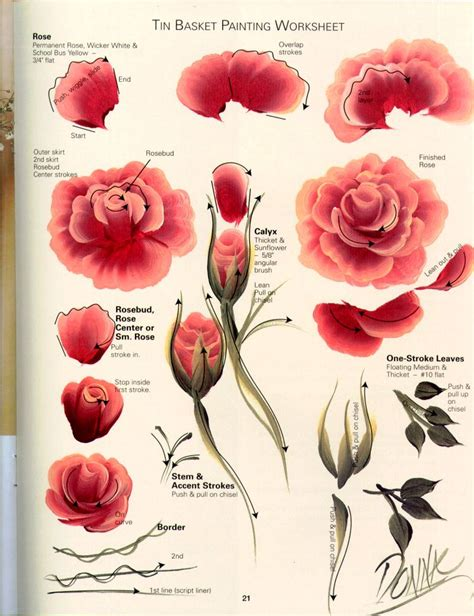 painting roses tutorial on pinterest how to paint china