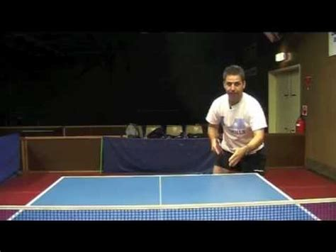 how long is a table tennis table how to return a long sidespin serve table tennis