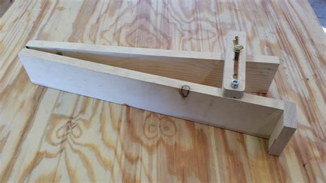 woodworking tapering jig diy  plans
