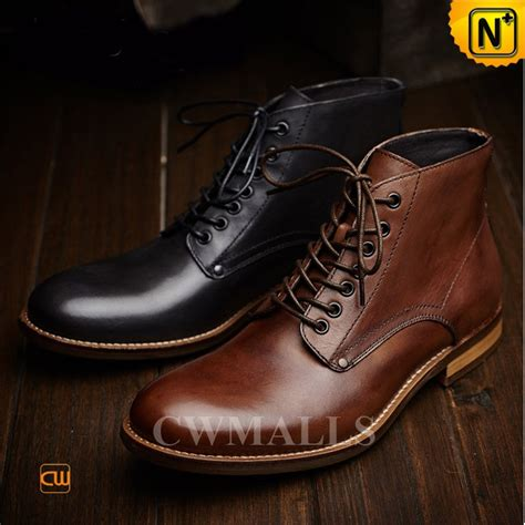 mens leather boots cwmalls 174 vintage leather boots for cw726509